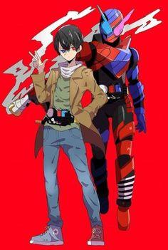 Kamen Rider Wizard, Kamen Rider Decade, Kamen Rider Series, Character Art, Character Design, Hero Time, Anime Version, Anime Poses, Anime Style