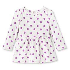 cb545501d3 Infant Toddler Girls Long Sleeve Polkadot Dress