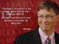 the cool ruler: Captación de talento... según Bill Gates