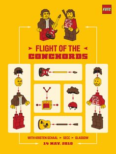 Flight of the Conchords gig poster