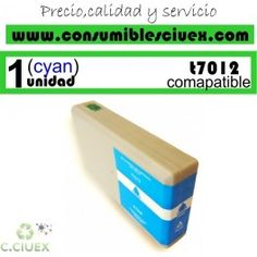 EPSON COMPATIBLE T7012 CYAN (7.012 CY)