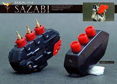GUNDAM GUY: HGUC 1/144 Sazabi - Customized Build [Updated 5/1/15]