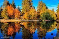 Mirror Pond, Bend, Oregon ---------------------- @ alicedoggett