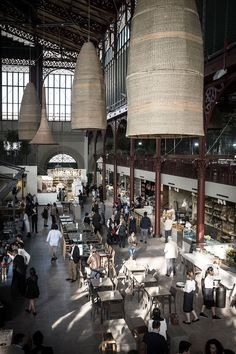 Mercato centrale in Florence, Italy - taste the traditional Italian market. It's a great place to people watch, or grab a simple sandwich.
