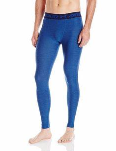 abe660257cf Under Armour HG Mens Blue Twist Print 2XL Compression Tights Pants  1285696-480  Underarmour