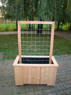 Front Garden Ideas – Basics Bloembakken Lariks - F Tuindecoratie -http://pinterest.com/pin/64387469645327482/