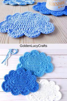 Crochet World, Crochet Things, Love Crochet, Crochet Flowers, Crochet Ideas, Crochet Projects, Art Projects, Knit Crochet, Crochet Dishcloths