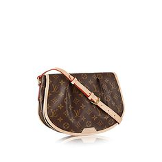892fad1d07f Discover Louis Vuitton Menilmontant PM  With a comfortable body-friendly  shape and adjustable strap the Menilmontant PM is perfect for the woman who  likes ...