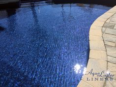 Dark Blue Pool Water dark blue liners will give your swimming pool water an intense