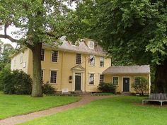 Buckman Tavern where the first shots of the American Revolution were fired Lexington Massachusetts