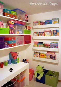 Ideas para ordenar la habitación de las niñas de una vez por todas.