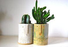Little succulent or cacti pot in von AtelierStellaLondon auf Etsy, £18.00