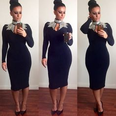 #ShareIG Long dress. Small waist. Hips on deck  Dress @hotmiamistyles  Shoes @lolashoetiquedolls  #glamrezy #glowrezy