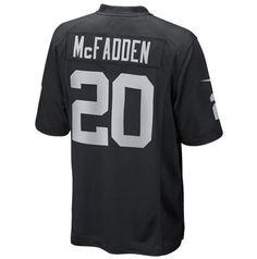 cadac7de6 ... Nike Oakland Raiders 20 Darren McFadden WhiteBlack Fadeaway Elite Jersey  NFL Oakland Raiders jerseys Pinterest Raiders Mens ...