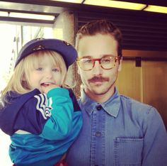 john gourley with his daughter