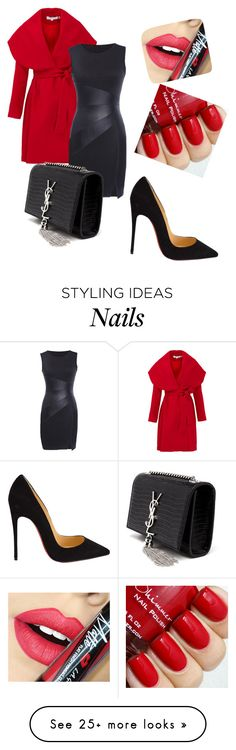 """Untitled #381"" by srlangley on Polyvore featuring Keepsake the Label, Christian Louboutin, Yves Saint Laurent, Fiebiger, women's clothing, women's fashion, women, female, woman and misses"