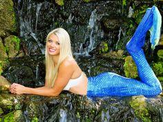 Meet Mermaid Chelsea, swimming into Newport