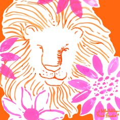 Inspired by vintage Lilly... hear me ROAR. #lilly5x5