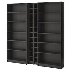 BILLY / GNEDBY Bookcase, black-brown, 78 It is estimated that every five seconds, one BILLY bookcase is sold somewhere in the world. Pretty impressive considering we launched BILLY in Hemnes Bookcase, Bookcase Storage, Bookshelves, Ikea Billy, At Home Furniture Store, Modern Home Furniture, Billy Regal, Madeira Natural, Ikea Family