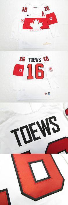 Hockey-Team Canada 2868: Jonathan Toews Team Canada White Sochi 2014 Olympics Nike Hockey Jersey -> BUY IT NOW ONLY: $224.99 on eBay!