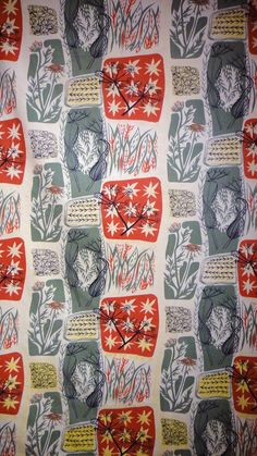Textile fabric designs by Mary White.
