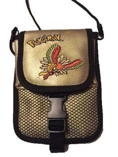 Original Nintendo Pokemon Gold Ho-Oh Pokemon Game Boy Color Travel Bag