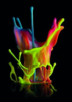 Dentsu: Paint Sound Sculptures
