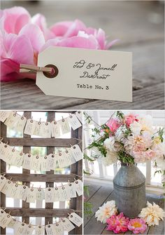 escort card ideas
