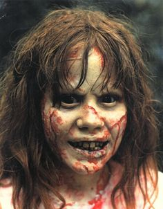 Dick Smith's Linda Blair made up as REAGAN, from The Exorcist.