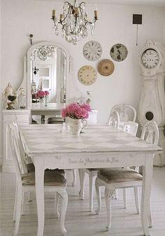 The Shabby Chic Home Mora clock -  #home_design #home_decor #home_ideas #kitchen #bedroom #living_room #bathroom - http://myshabbyhomes.com/the-shabby-chic-home-mora-clock/