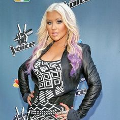 Christina Aguilera, my favorite hair look from her so far.