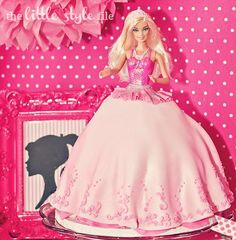 Barbie Party - Barbie Cake