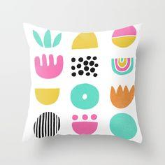 SIMPLE GEOMETRIC 001 Throw Pillow by Matthew Taylor Wilson | Society6
