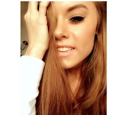 Me - Selfie - Smile - Makeup - Eyes - Hair