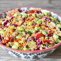 Connection Recipe: Asian Quinoa Salad
