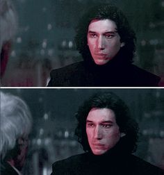 Kylo Ren being reminded he's also Ben Solo