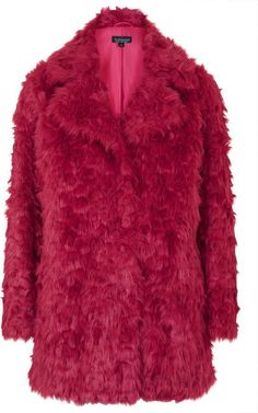 $170, Shaggy Faux Fur Coat. Sold by Topshop. Click for more info: https://lookastic.com/women/shop_items/340772/redirect