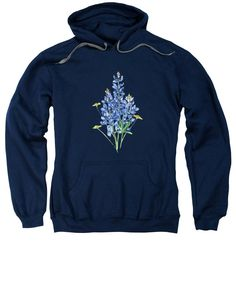 Bluebonnets And Wildflowers - Sweatshirt