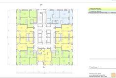 Жилой комплекс на Щербакова план 3 этажа