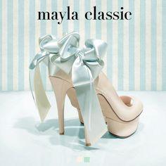 mayla classic   mayla classic ラヴェリーフィン  14.0CM  パンプス