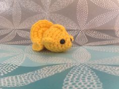 This cute little fish was crocheted by Samantha! She used the Little Fish free pattern! =)