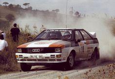 1981 Audi Quattro n.14 Mouton-Pons 1° Sanremo 1981