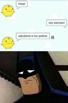 Pobre Batman :'v
