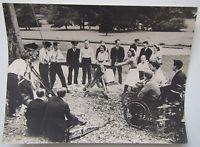'Maristow 1944' Nurses & Officers Sawing Wood! Photo - Royal Naval Hospital