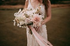 We are in love with the elegant and romantic flowers that we did for this couple on their wedding day. We brought organic and earthy tones to fit with the m(. Wedding Shoot, Wedding Day, Wedding Dresses, Flower Studio, Romantic Flowers, Colour Palettes, Outdoor Ceremony, Gold Accents, Earthy