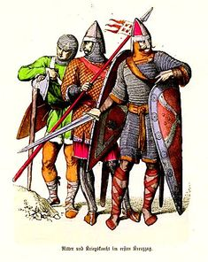 Knights and Soldiers - First Crusade, XI cent.