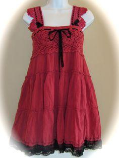 Boho Altered Couture Dress Sweetheart Fairy Dress