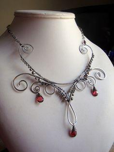 Persephone Rising collarpiece.