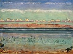 Ferdinand Hodler (1853-1918) Swiss Art Nouveau Painter
