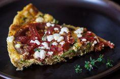 Zucchini Frittata Recipe ~ http://steamykitchen.com